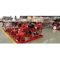 Buy cheap Horizontal End Suction Electric Motor Driven Fire Pump 68.2M3/H 60m UL FM NFPA20 product