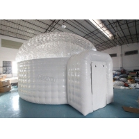 Buy cheap 0.55mm Pvc Inflatable Igloo Tent For Outdoor Observe Stars product