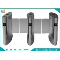 Buy cheap Shopping Mall Luxury Automatic Systems Turnstiles Human Voice Warning , Right Passing product