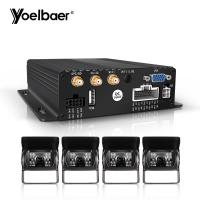 Buy cheap Stable Performance Car DVR Security System 1080P SD MDVR 3G 4G GPS WIFI product