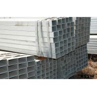 Buy cheap ASTM A53 Q235 Hot Dipped Galvanized Steel Pipe ERW / EFW Technique , Square product