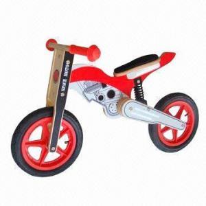 Buy cheap Wooden bike, measures 88 x 44 x 52cm product
