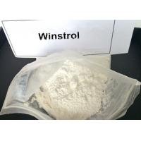 Buy cheap Legal Winstrol Stanozolol Weight Loss Steroids / Fat Burner Powder For Men 10418-03-8 product