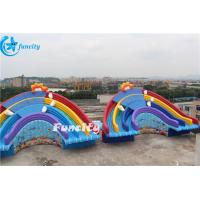 Buy cheap Octopus Slides Inflatable Water Park Digital Printing / Hand Drawing / Silk Printing from wholesalers
