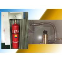 Buy cheap 40L Single Cabinet Fm200 Fire Extinguishing System Pipe Network System from wholesalers