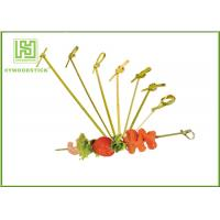 Buy cheap Healthy Bbq Vegetable Skewers , Yakitori Roasting Wooden Meat Skewers For Party product