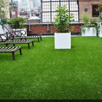 Buy cheap Ground Cover Turf For House Roof Top Amazing Anti Aging PE PP Material product