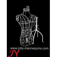 Buy cheap Jolly mannequins-vintage style female torso wire mannequin with four Tripod from wholesalers