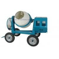 Buy cheap Mini Cement Mixer Rated Overload Concrete Mixer for Cast Iron CogWheel and Rubber Wheels product