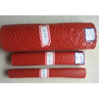 Buy cheap Heat Resistant Silicone Rubber Fiberglass Sleeving , High Temperature Fire Sleeves product