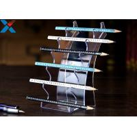 Buy cheap Eyebrow Pencil Clear Acrylic Display Stands Acrylic Pen Holder Display Stand product