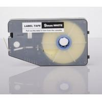 Buy cheap 9mm white label printer tape , aerospace cable ID tape cassette product