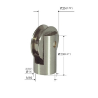 Buy cheap M10 Female Thread Suspended Ceiling Wire Attachment With Roller Shaft YW86274 product