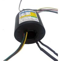 Buy cheap Multi Signals Transmission Rotating Electrical Connector Slip Ring For CCTV IP - Surveillance product