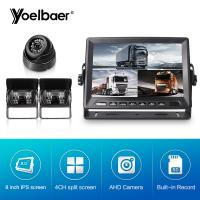 Buy cheap FHD 1080P Vehicle Reversing Systems Car Camera DVR Video Recorder 4 Videos Input product
