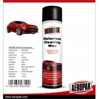 Buy cheap AEROPAK 500ML aerosol spray can Waterless Cleaning Wax for car cleaning product