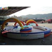 Buy cheap Durable Inflatable Sports Games Race Track , Inflatable Go Kart Track product