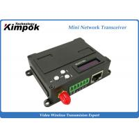 Buy cheap Full Duplex Ethernet Video Transceiver RS232/ RS485 COFDM Wireless Transmitter and Receiver product