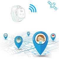 Buy cheap 2G Real Time Personal Gps Tracker , Kids GPS Tracker Watch 400Mah Battery Capacity from wholesalers