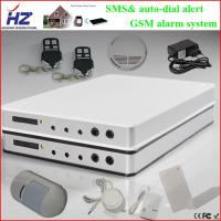 China IOS/ Android application operate SMS alert alarm home gsm system on sale
