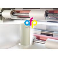 Buy cheap Scratch Resistant Polyester Laminating Film For Paper Lamination Soft Touch product