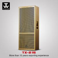 Buy cheap Touring Sound System Professional Dual 15inch Loudspeaker Performance DJ Sounds from wholesalers