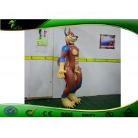 Quality Customized Cartoon Inflatable Sexy Standing Dog / Inflatable Sex Dog With Muscle for sale