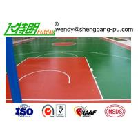China SPU Silicone Polythane Tennis Court Surfacing with ITF Approval on sale