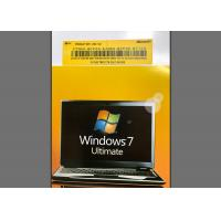 Buy cheap PC / Computer Windows 7 Ultimate 64 Bit Retail Product Key Microsoft Certified product