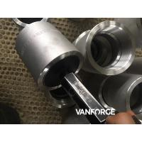 Buy cheap Forged NPT Pipe Threaded Coupling , Stainless Steel Threaded Coupling product