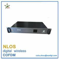 Buy cheap 1.5U Rack mount Data Encrypted cofdm wireless video link from wholesalers