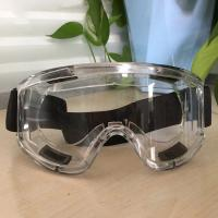Buy cheap Transparent Medical Safety Goggles Dust Proof Logo Customized OEM Accept from wholesalers