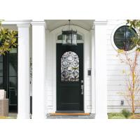 Buy cheap Good Apperance Entry Door Replacement Glass Frame Heat And Sound Insulation product