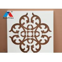 Buy cheap Aluminum Wall Partition Panels , Structured Decorative Metal Wall Tiles product
