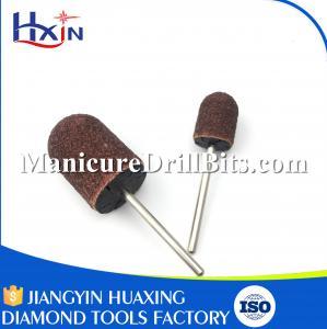 Mandrel Nail Drill Sanding Bits , Steel Material Rotary Tool Sanding Bits