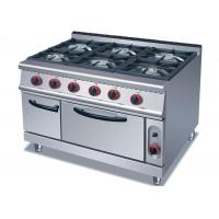 Buy cheap Security Cooking Lines Free Standing Gas Range With 4 / 6 European Burners product