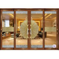 Buy cheap Security Aluminum Window And Door With Double Tempered Glass 4mm product