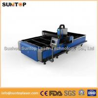 Buy cheap Stainless steel and mild steel CNC fiber laser cutting machine with laser power 1000W product