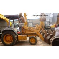 Buy cheap Euro 3 Used Backhoe Loader , Case 580L Backhoe Loader SGS Approved product