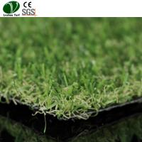 Buy cheap Indoor Outdoor Artificial Grass Carpet / Playground Turf Carpet Tiles Lawn product