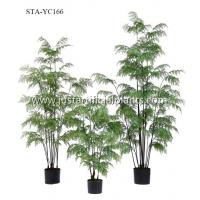Buy cheap Lush Artificial Fern Plants , Plastic Fern Plants UV Protected Sturdy Refreshing Gorgeous product