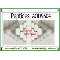 China Injectable Peptides Fragment AOD9604 Powder For Fat Loss CAS: 221231-10-3 on sale