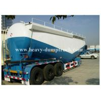 Buy cheap Bulk cement tank semi trailer for coal ash powder Leaf spring suspension with warranty product