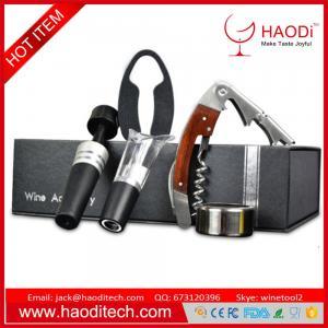 Buy cheap Wine Opener Set Luxury Wine Bottle Opener Kit With Handle Waiters Corkscrew Set product