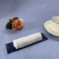 Buy cheap Individually Packing White Refreshing Cotton Wet Towel product