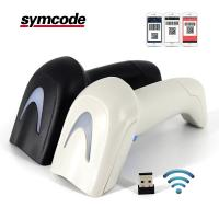 Buy cheap 2D QR CODE Wireless Barcode Scanner Supermarket 1800mA Li - Ion Battery product