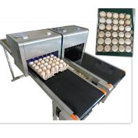 Buy cheap High Output Egg Batch Code Stamping Machine With Low Maintenance Costs product