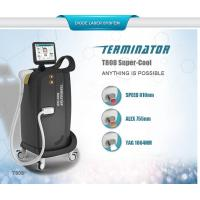 Buy cheap 2017 Hottest 810nm 755nm 1064 nm permanent hair removal /skin rejuvenation diode laser machine from wholesalers