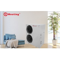 Buy cheap Meeting commercial air source heat pump water heater R32/R410A refrigerant water heating system China manufacturer product