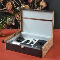 China Deluxe Wine Gift Set with Wine Opener Wine Stopper. Foil Cutter on sale